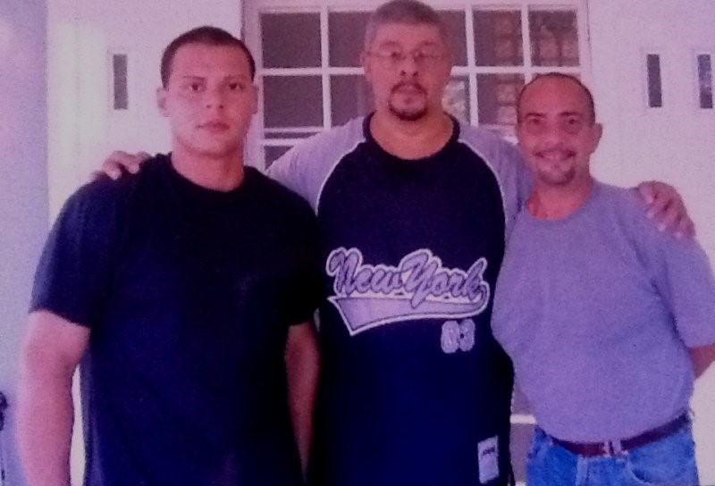 Photo of Ramon Diaz and Charlie Diaz, with Sifu Guru Joe Musse founder of Wing Chun Kali System