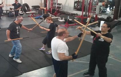 Photo of Filipino Kali Martial Arts Training in Houston Texas